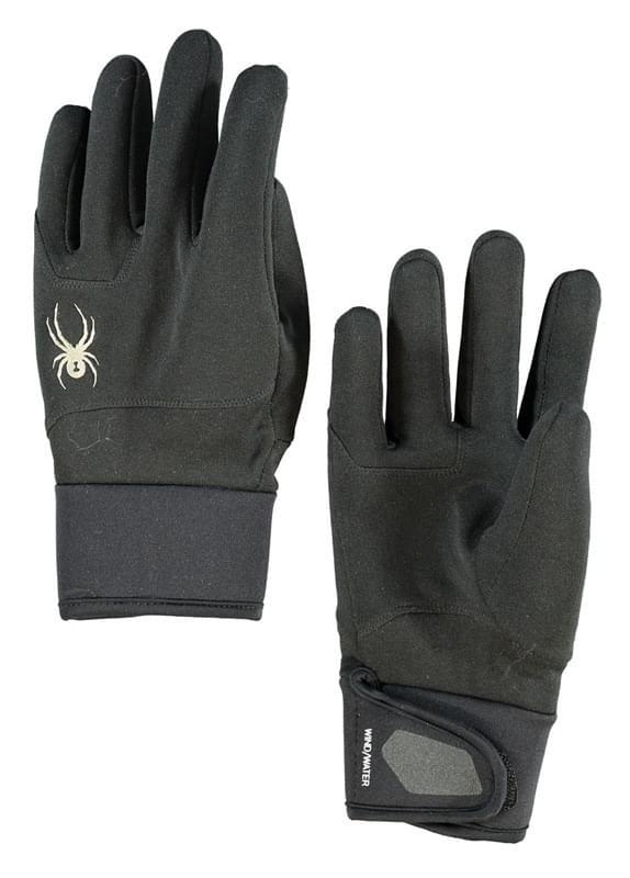 Pánské lyžařské rukavice Spyder Shield - black - Ski a Bike Centrum ... af0855b73d