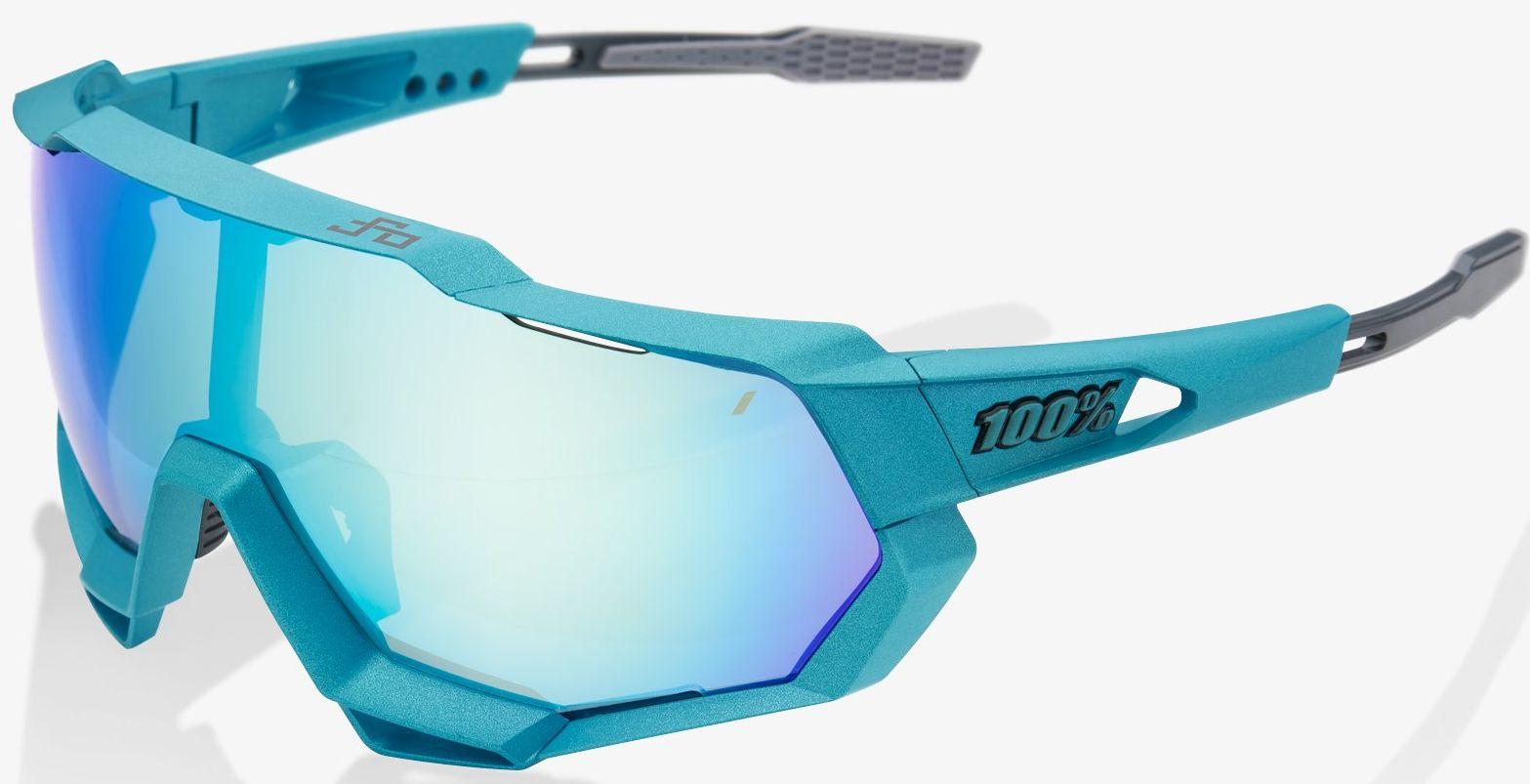 100% Speedtrap - Peter Sagan LE Blue Topaz / Mirror Lens uni