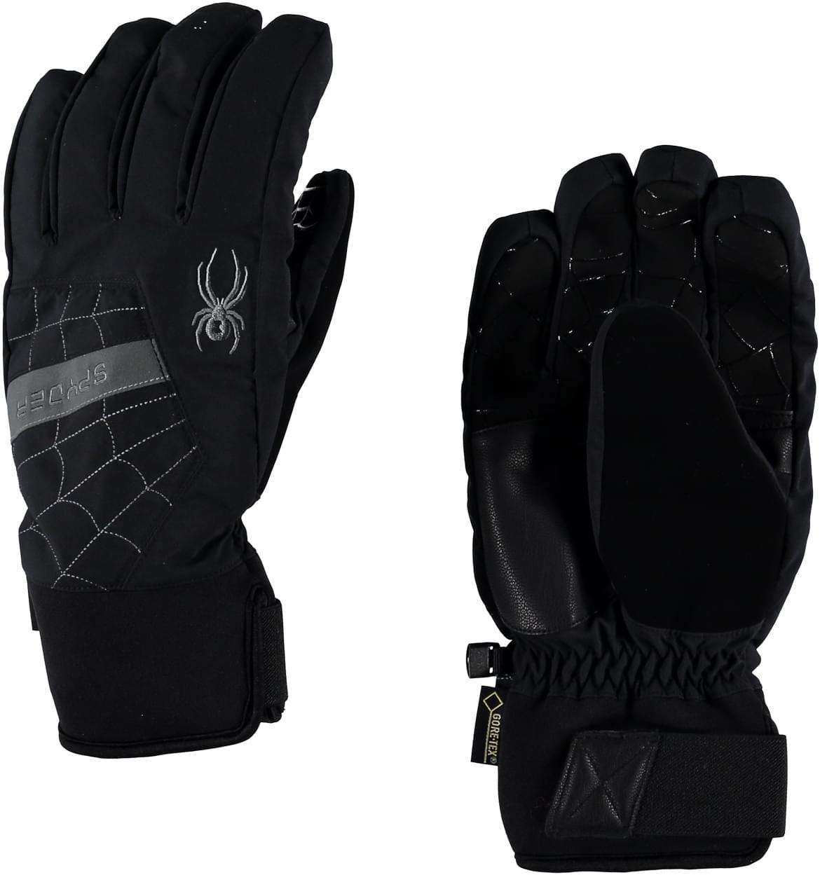 4754af6f1b5 Pánské lyžařské rukavice Spyder Men s Underweb Gore-Tex – black ...