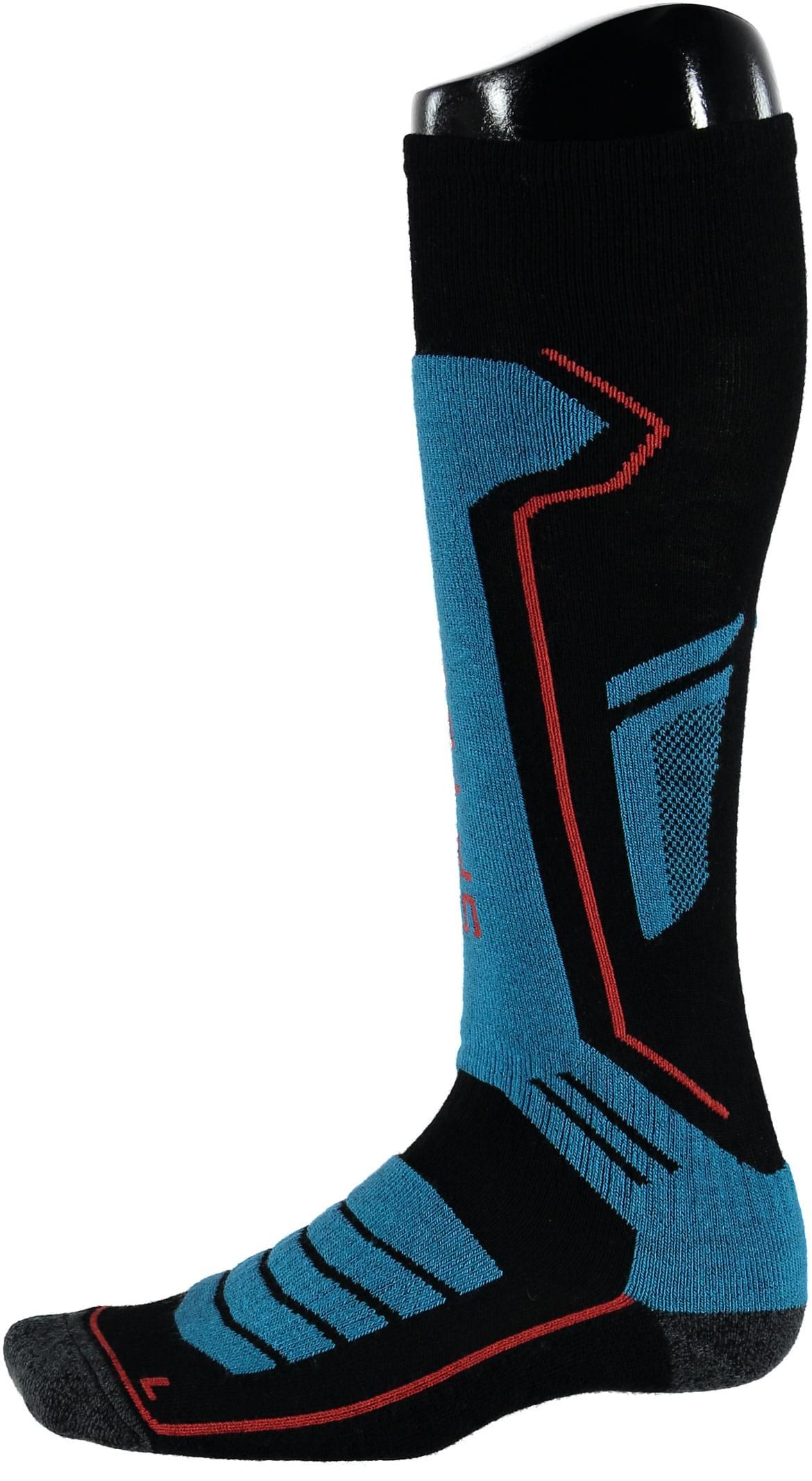 Pánské ponožky Spyder Men s Sport Merino Sock - blk ebl rag brs ... 68635e5a9a