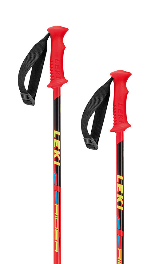 Leki Rider red/black-yellow-blue 95