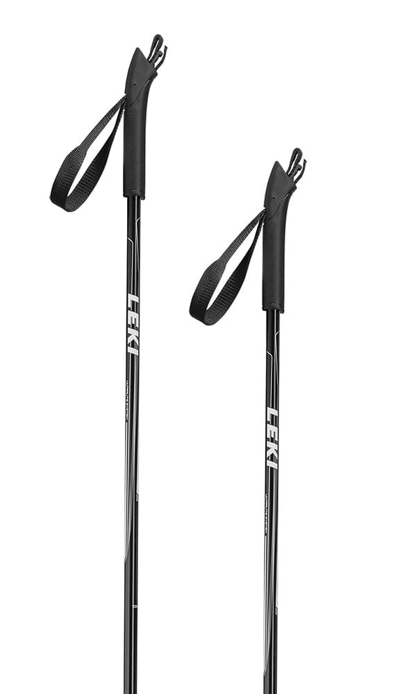 Leki Vasa Jr. black/white-anthracite-silver 95