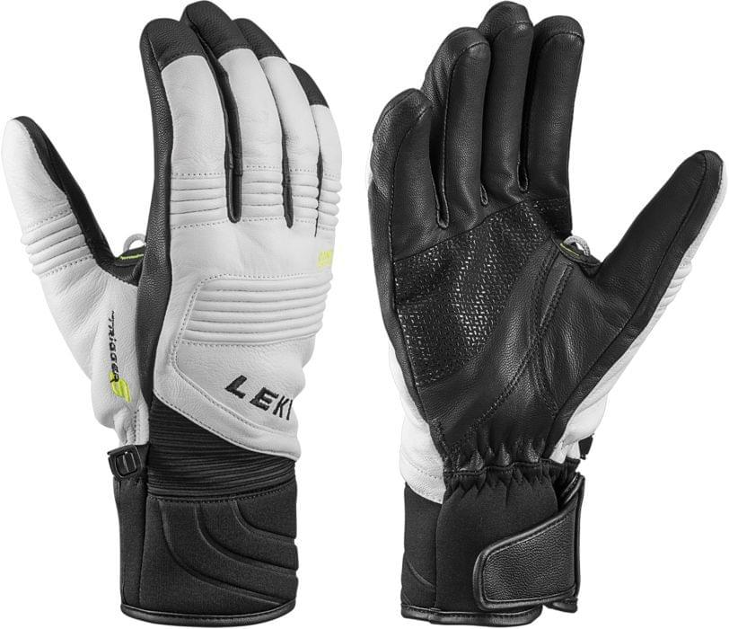 Leki eleMents Platinum S white-black 11.0