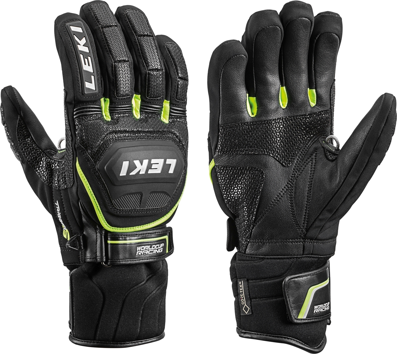 Lyžařské rukavice Leki Worldcup Race Coach Flex S GTX black-yellow ... 1d57b4c632