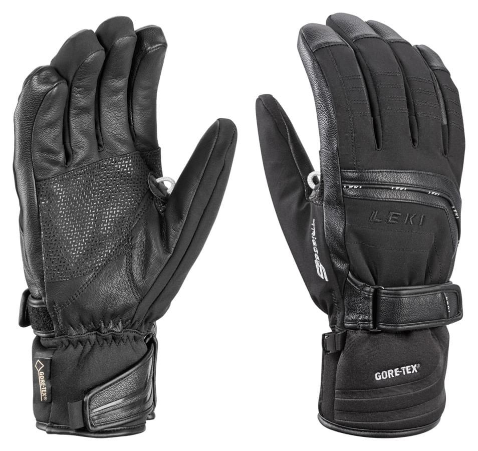 Lyžařské rukavice Leki Peak S GTX – black 8.5 2e0835cb9f