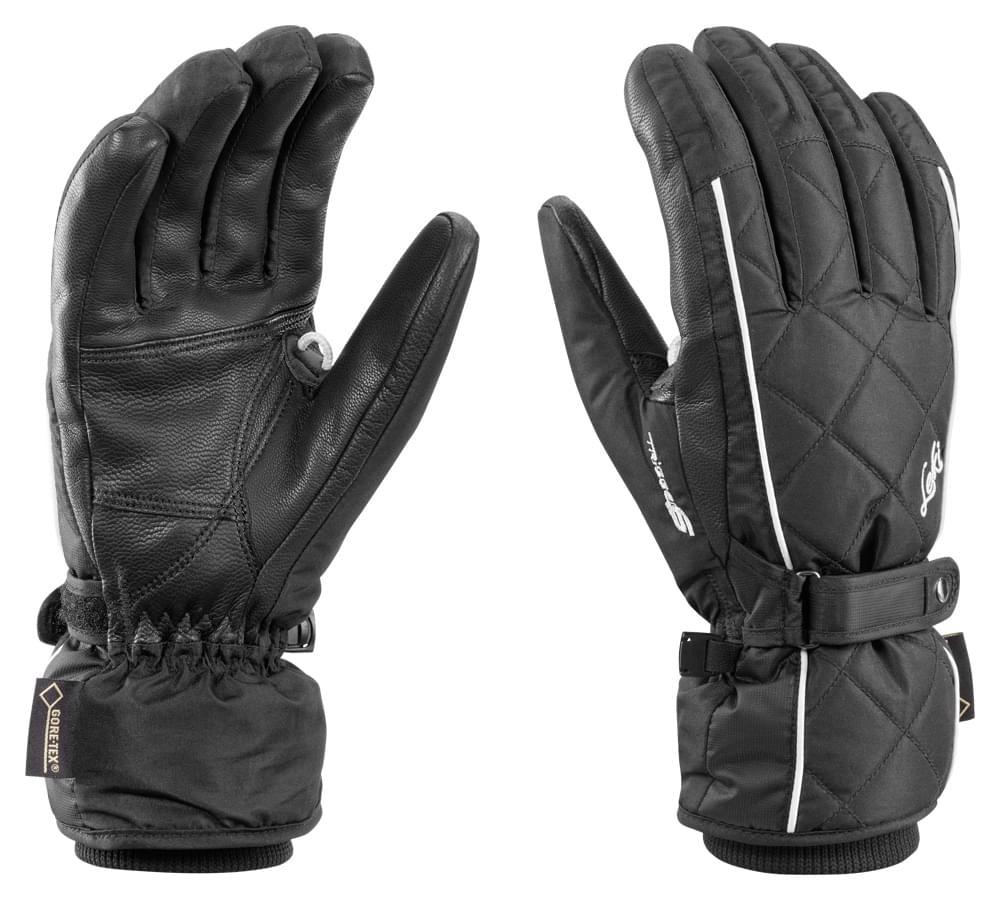 Dámské lyžařské rukavice Leki Arosa S GTX Lady – black 6 dd804e2700