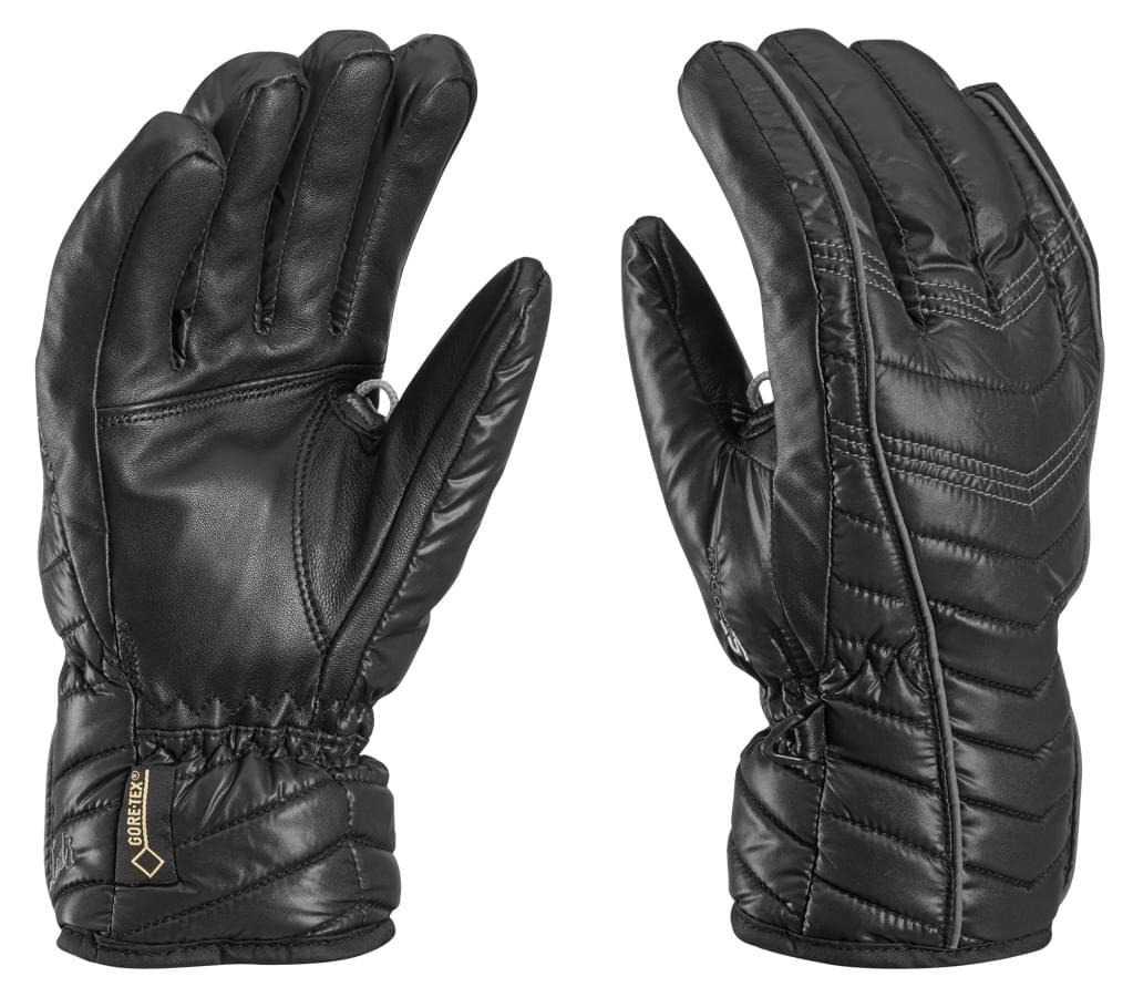 Dámské lyžařské rukavice Leki Cortina S GTX Lady – black graphite ... 01ce100dc3