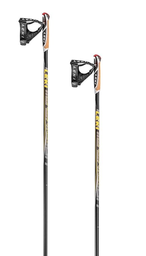Leki Trail Carbon black-yellow-anthracite 150