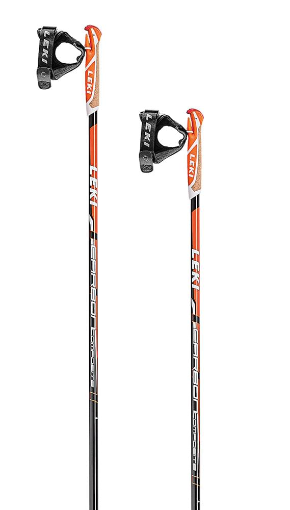 Leki Carbon Composite anthr-white-orange 150