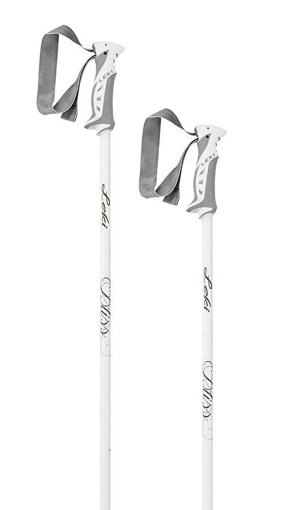 Leki Bliss white/anthracite-gold 105