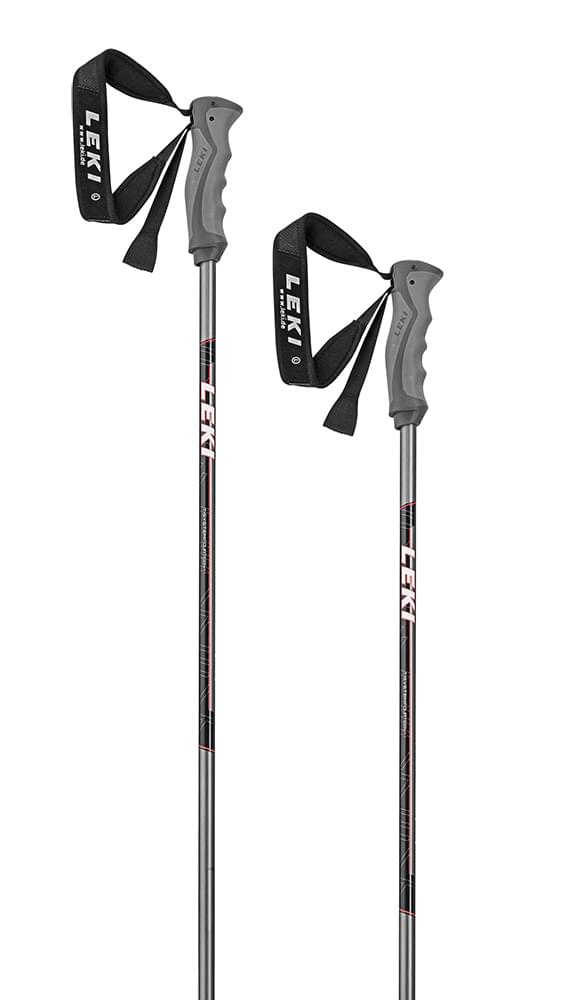 Leki Elite 14 T gunmetal/white-black-red 120