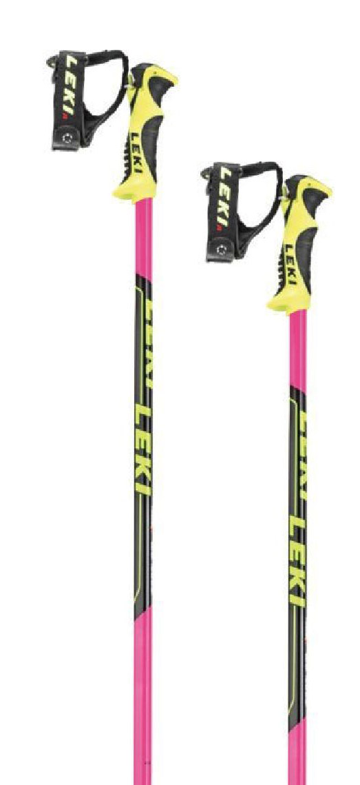 Leki Worldcup Lite SL - pink/black/white/yellow 95