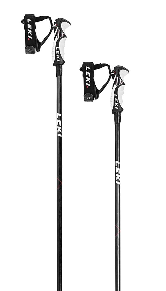 Leki Carbon HXG 6.0 - carbon structure/anthracite/white/red 130