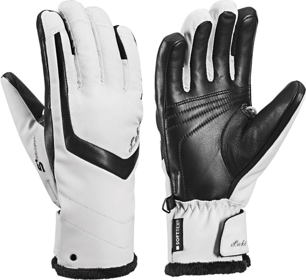 Dámské lyžařské rukavice Leki Stella S Lady white-black - Ski a Bike ... 2730dda259