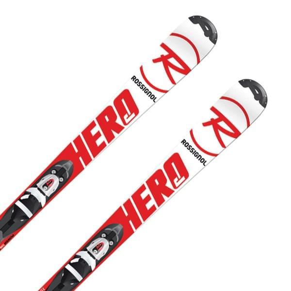 Dětské sjezdové lyže Rossignol Hero JR + vázání Comp J 45 B69 110