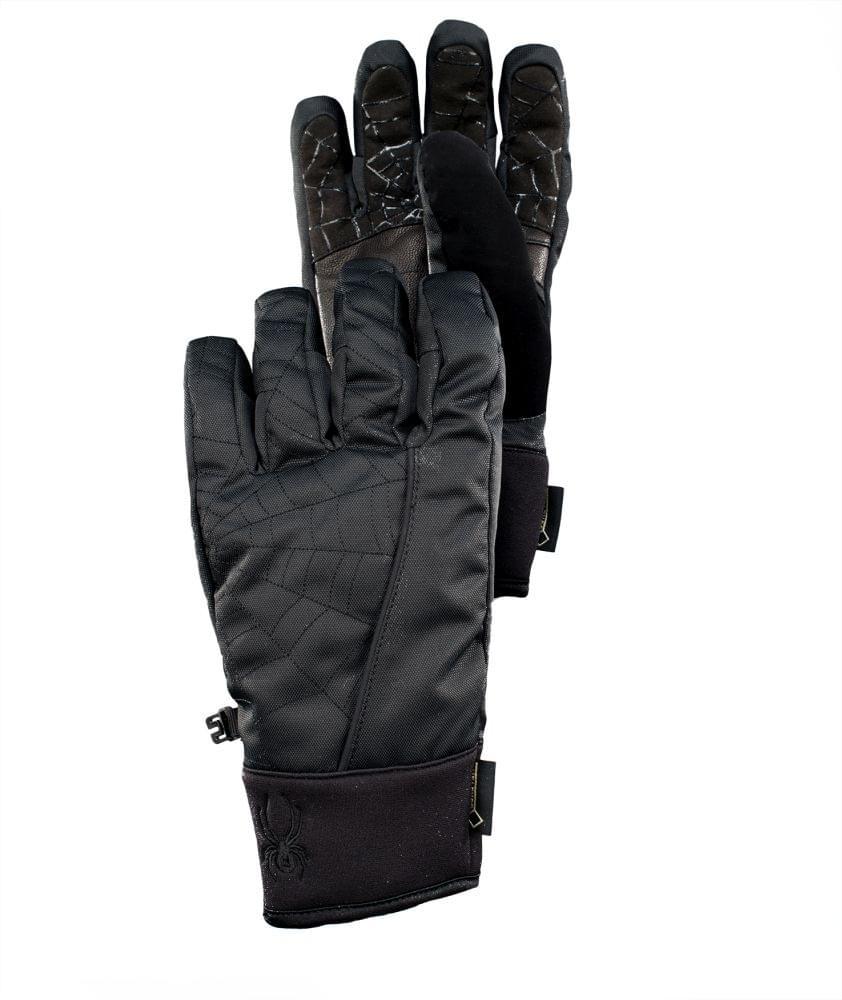 1c067b3c289 Pánské lyžařské rukavice Spyder Underweb - black black - Ski a Bike ...