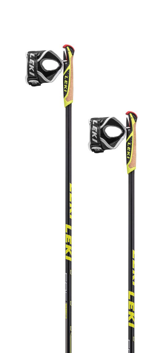 Leki PRC 850 black/white-anthracite-neonyellow 145