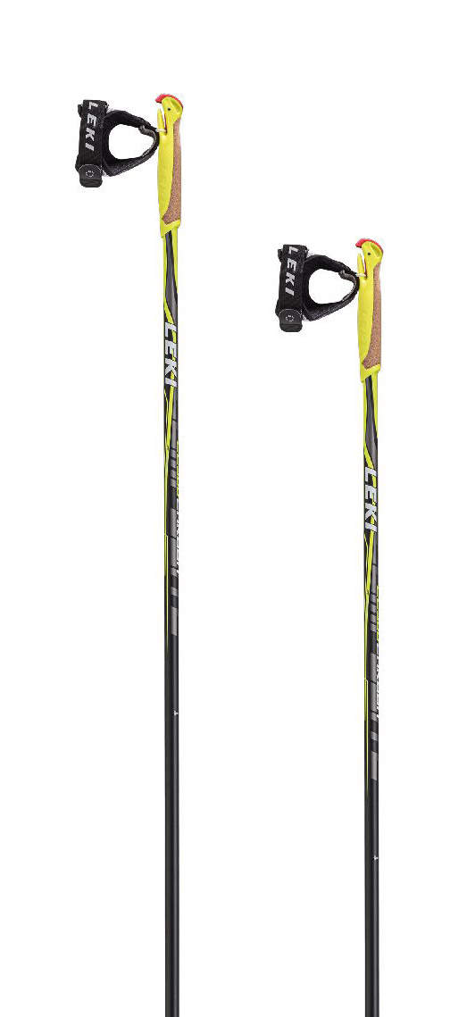 Leki CC 300 - black/white/anthracite/yellow 155