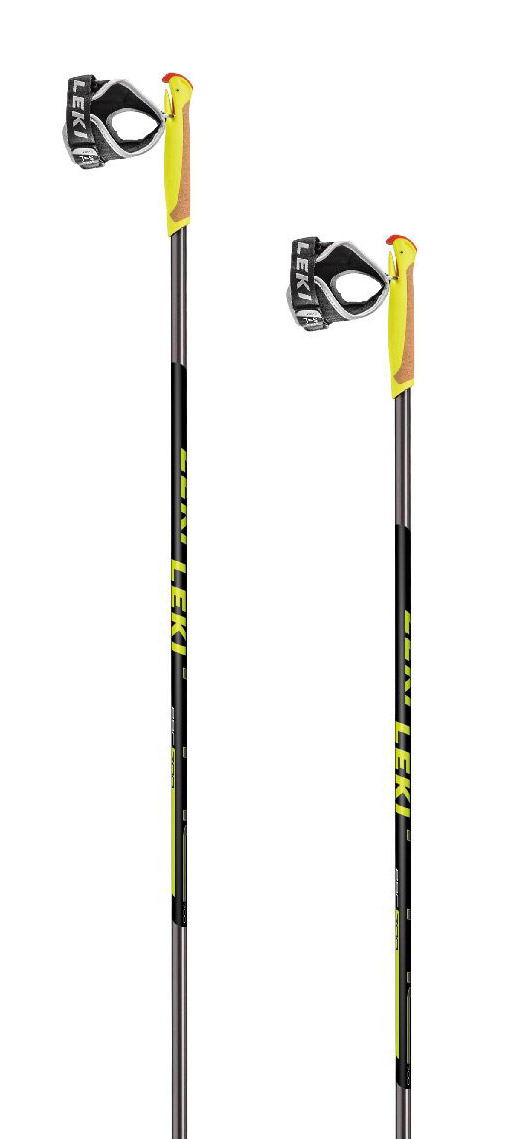 Leki PRC 700 - anthracite/black/white/yellow 170