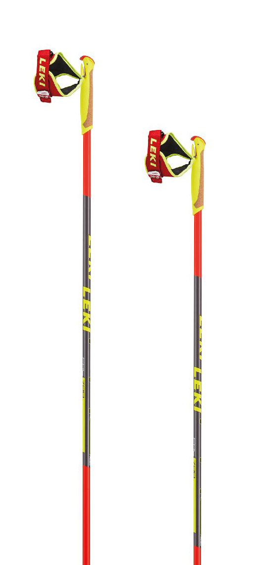 Leki PRC 700 - red/anthracite/black/white/yellow 150