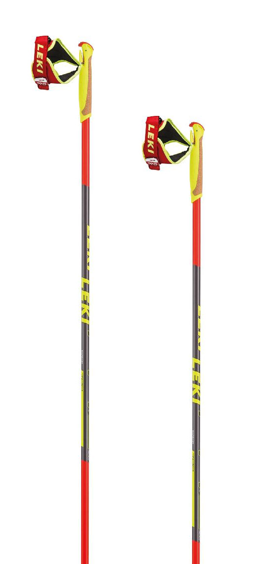Leki PRC 700 - red/anthracite/black/white/yellow 160