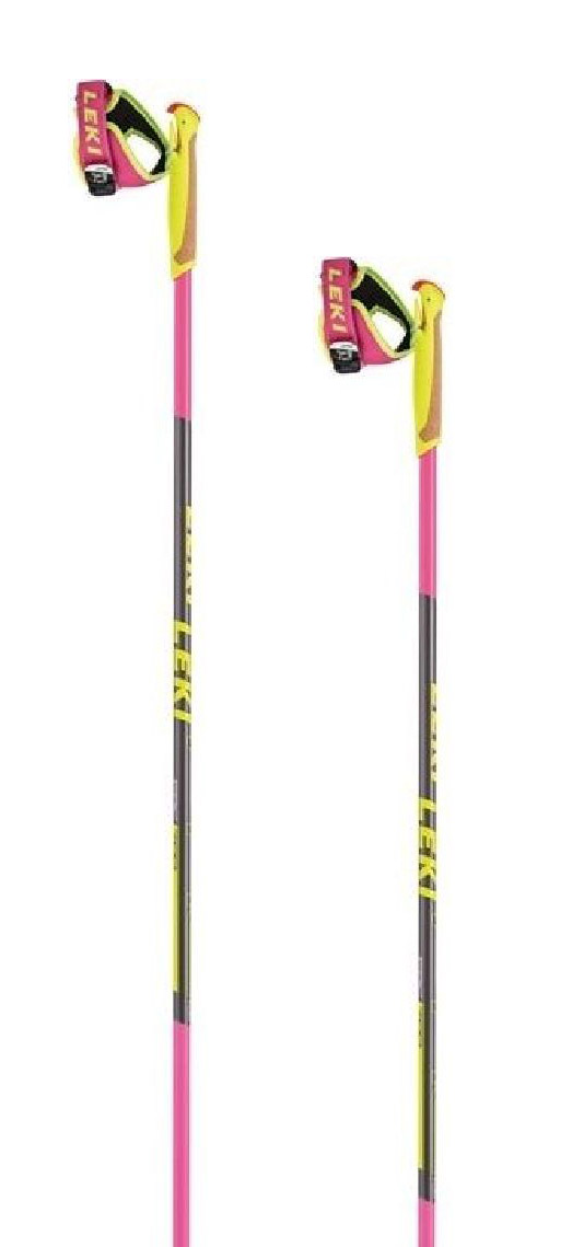Leki PRC 700 - pink/anthracite/black/white/yellow 165
