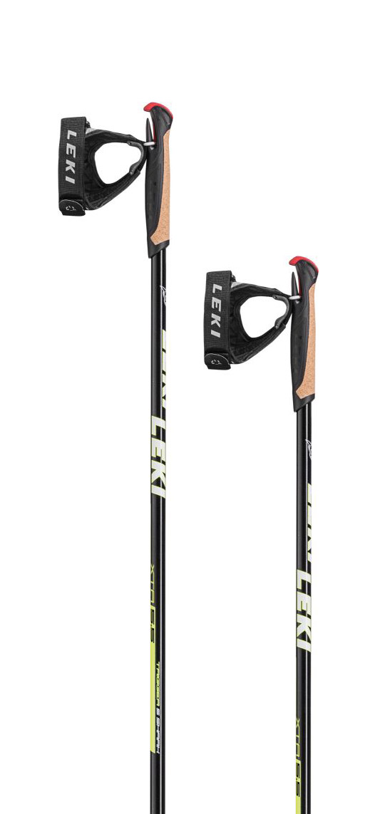 Leki XTA 5.5 - black/white/neonyellow 150