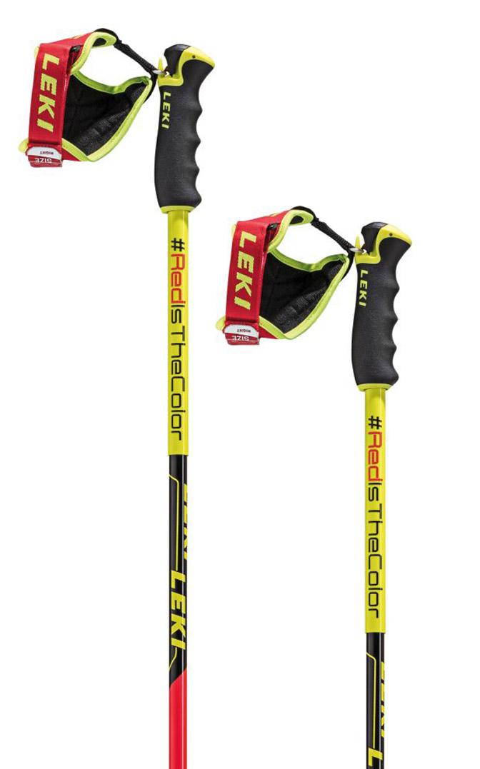 Leki Worldcup Racing Comp - neonred/neonyellow/black 135