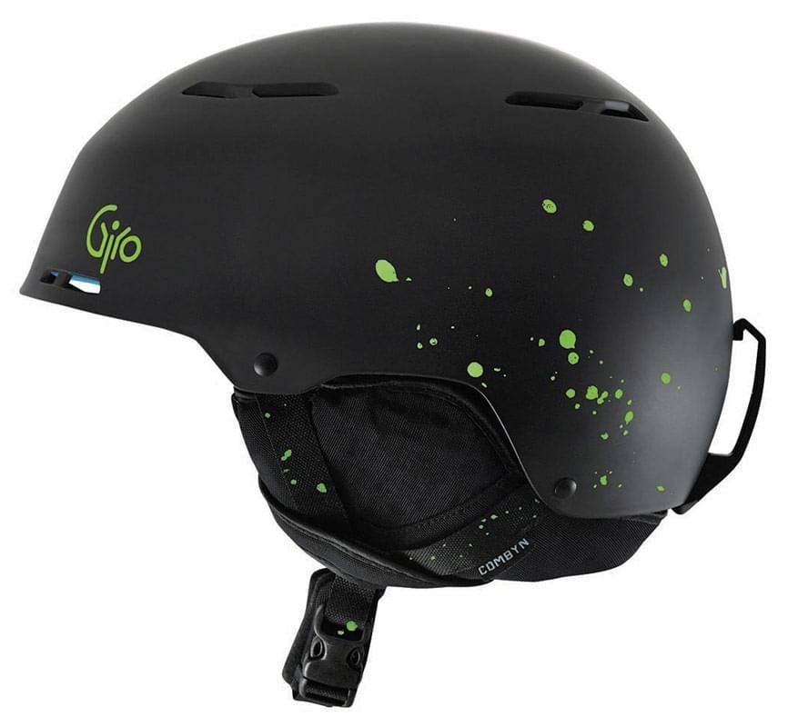 Lyžařská helma Giro Combyn - matte black splatter L