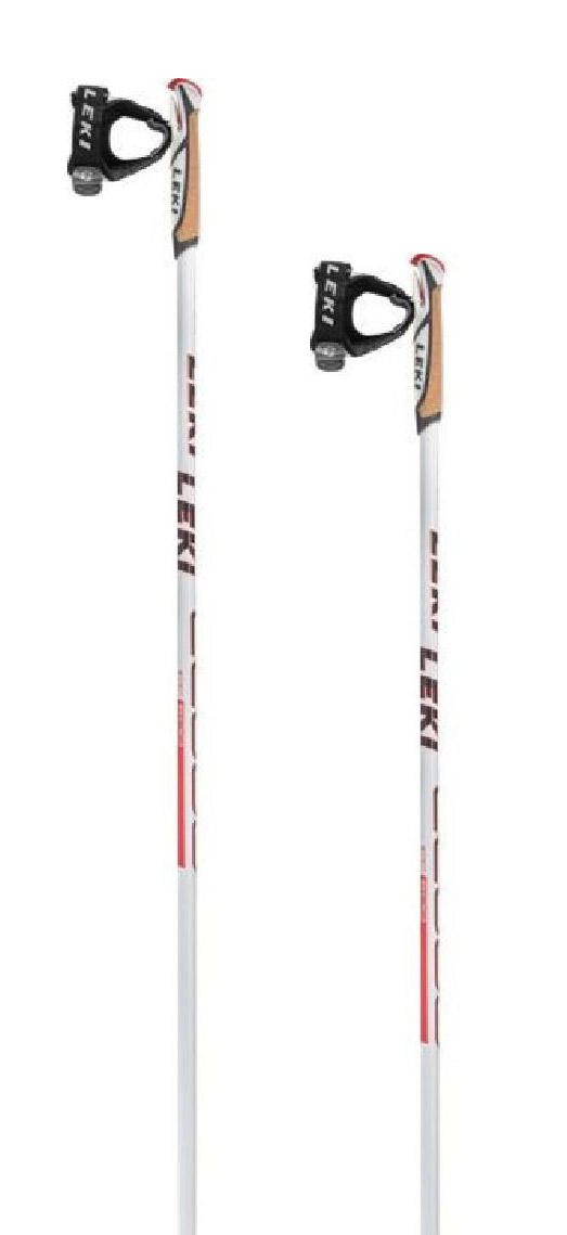 Leki CC 600 Lady - white/anthracite/neonred 155