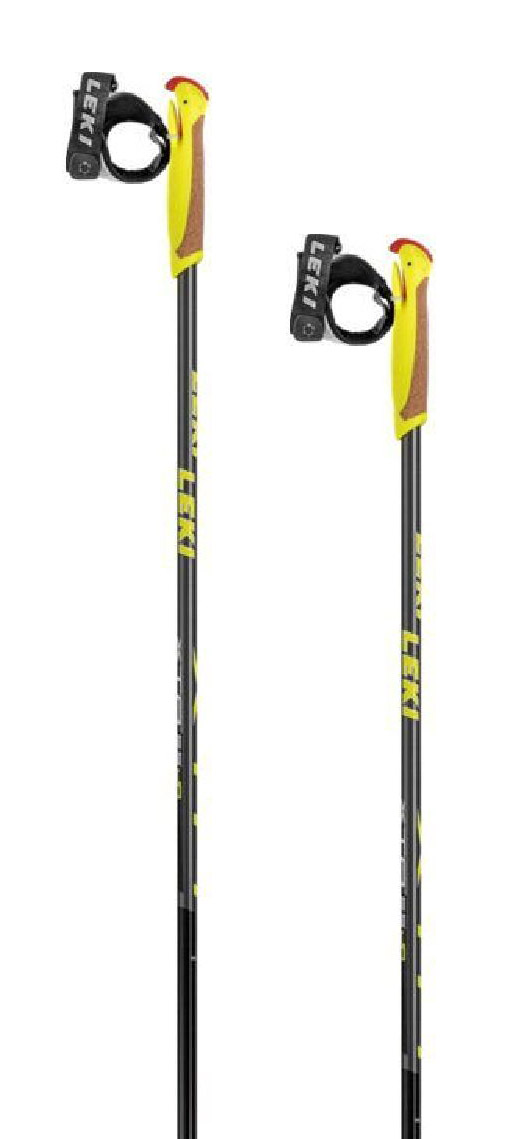 Leki XTA 5.5 Jr. - black/anthracite/white/yellow 130