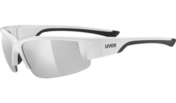 Uvex Sportstyle 215 - white black/silver uni
