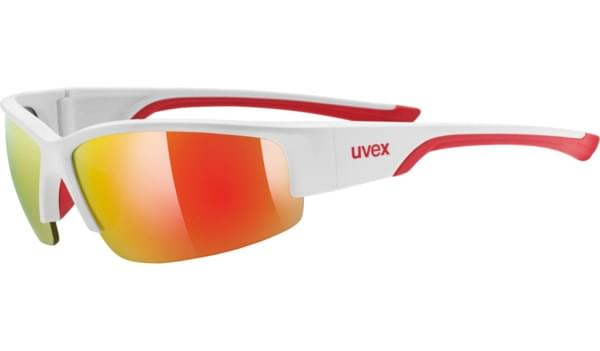 Uvex Sportstyle 215 - white mat red/red uni