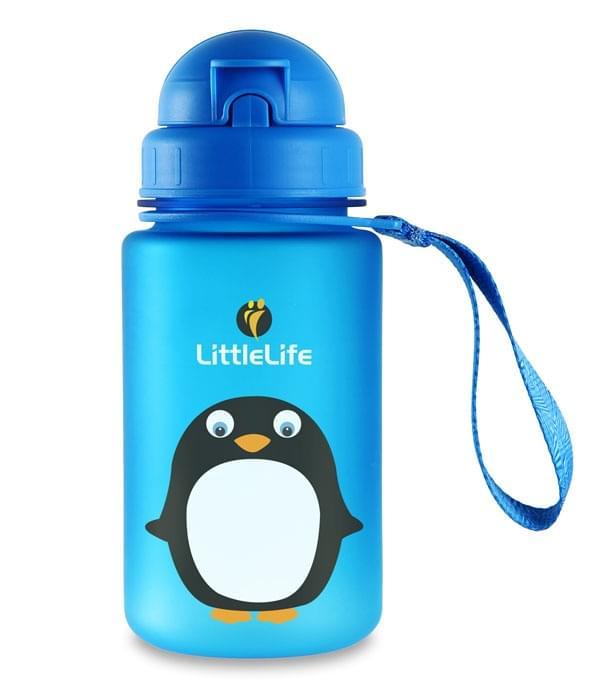 Dětská láhev na pití Littlelife 400ml - penguin uni