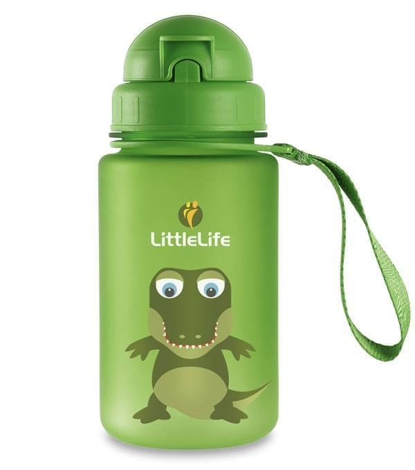 Dětská láhev na pití Littlelife 400ml - crocodile uni