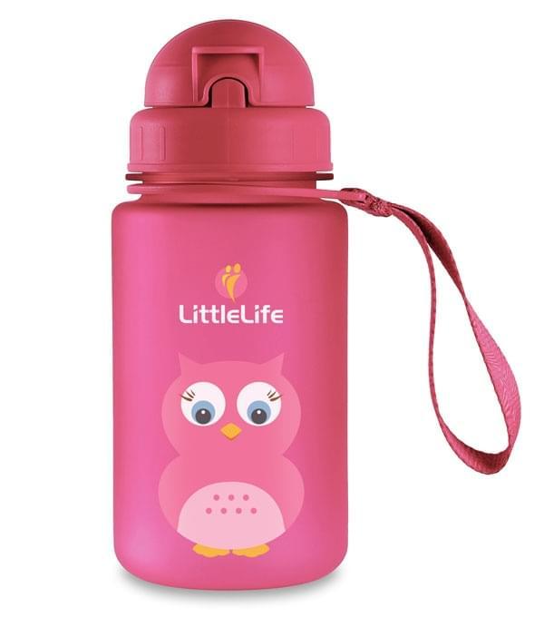 Dětská láhev na pití Littlelife 400ml - owl uni
