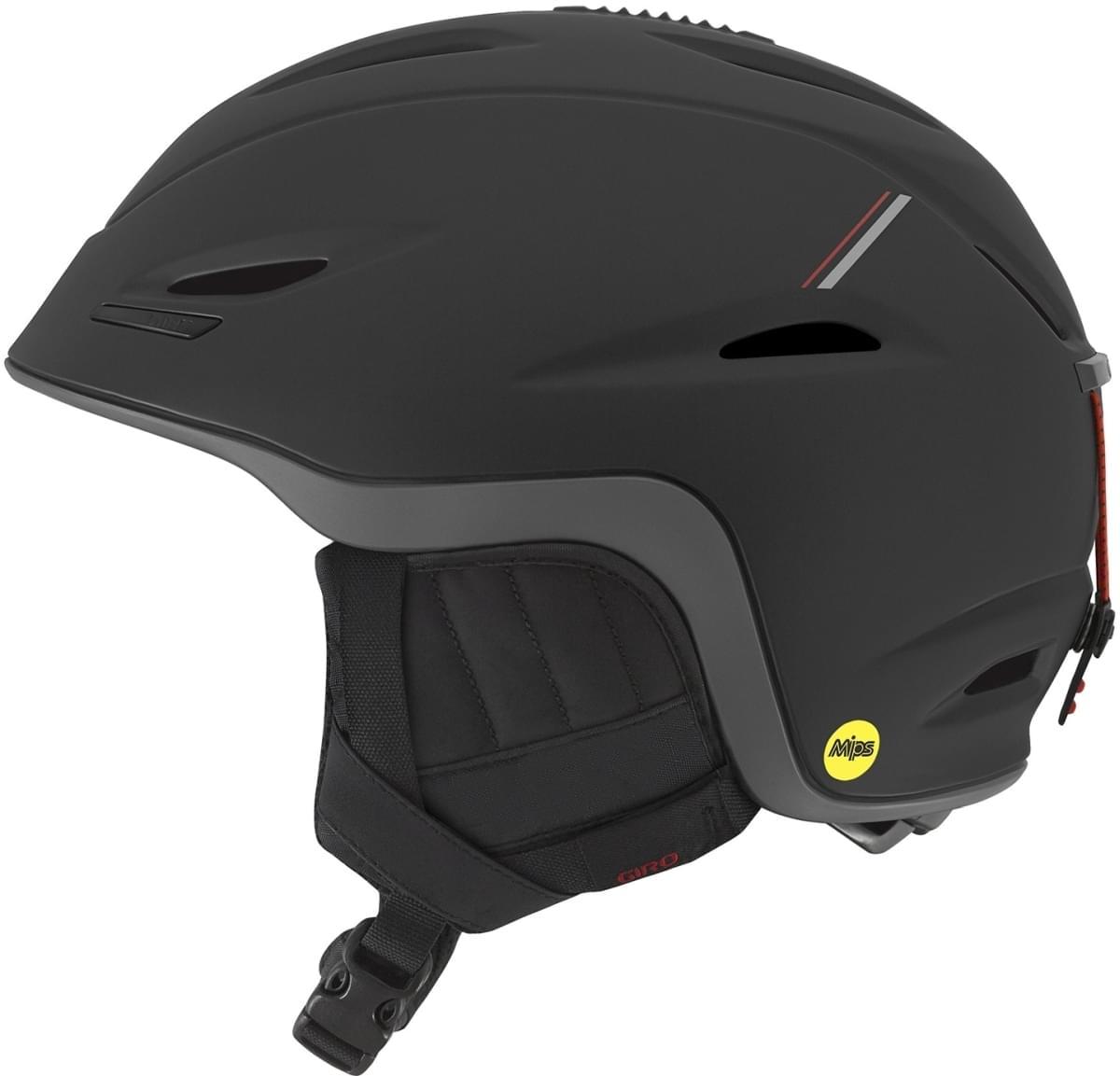 Giro Union MIPS Mat Black/Red Sport Tech M