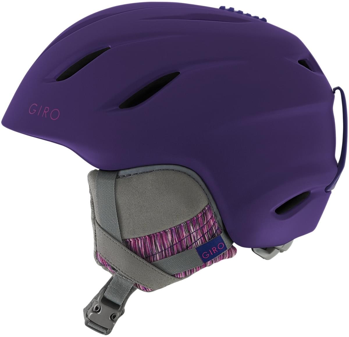 Dámská lyžařská přilba Giro Era Matte Purple - Ski a Bike Centrum ... a2270bae696