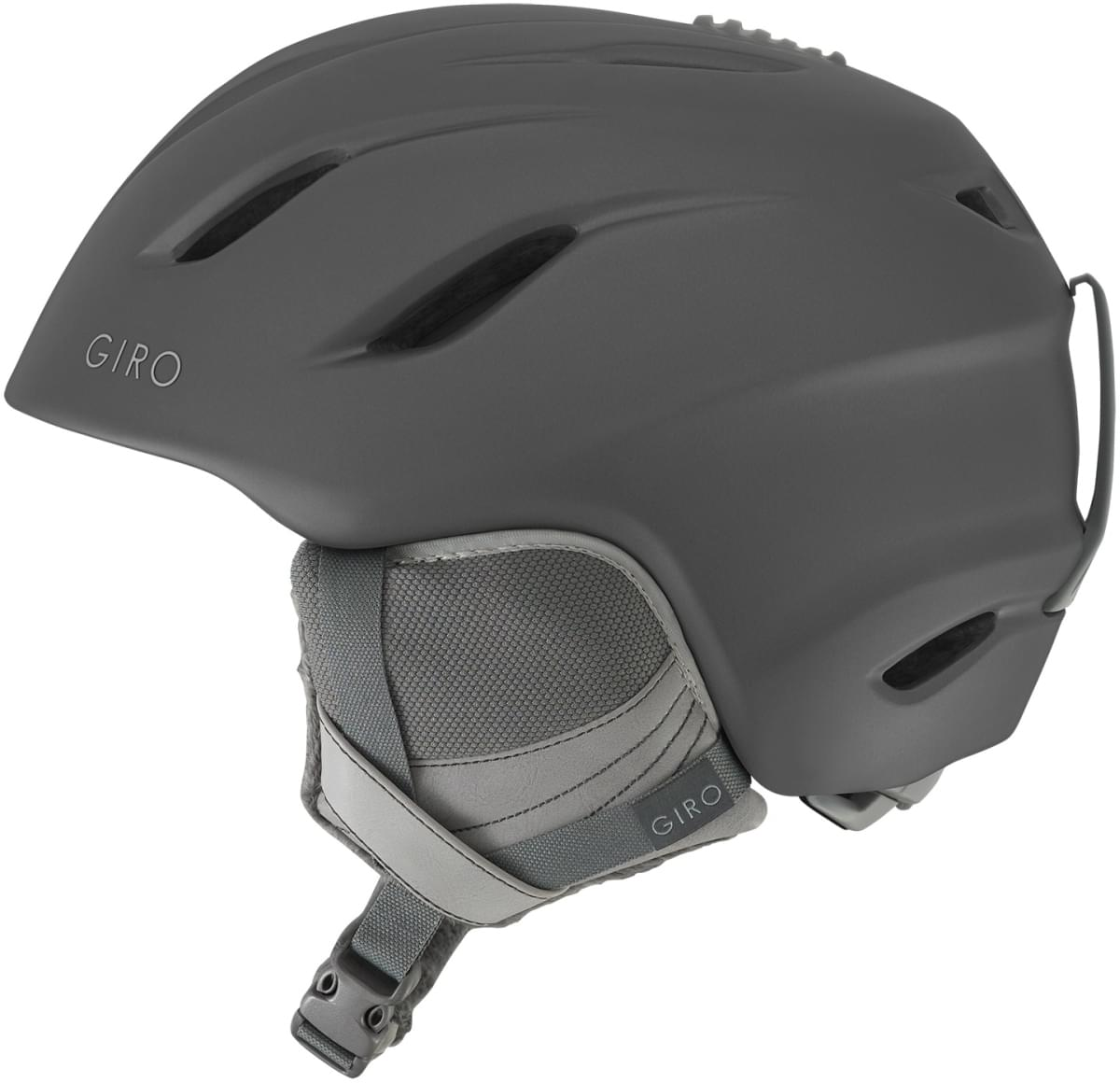 Dámská lyžařská helma Giro Era Mat Titanium - Ski a Bike Centrum Radotín 7f0e64ff248