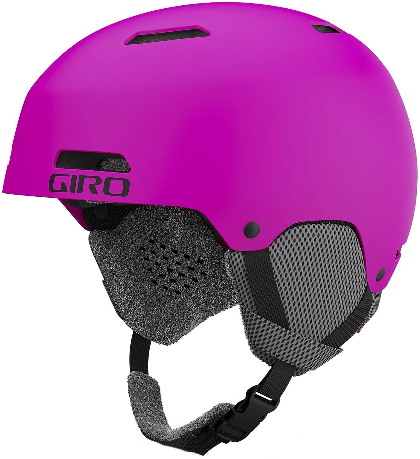 Giro Crüe Mat Bright Pink S