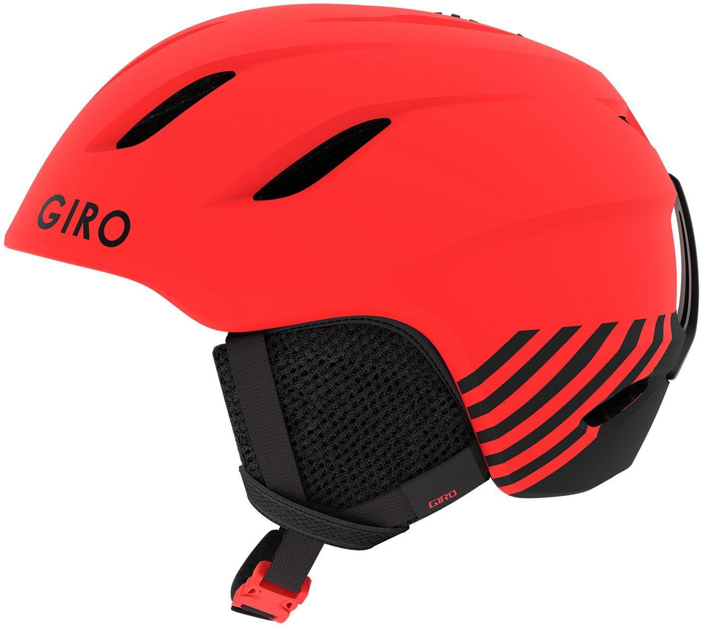 Giro Nine Jr Mat Bright Red Zoom S