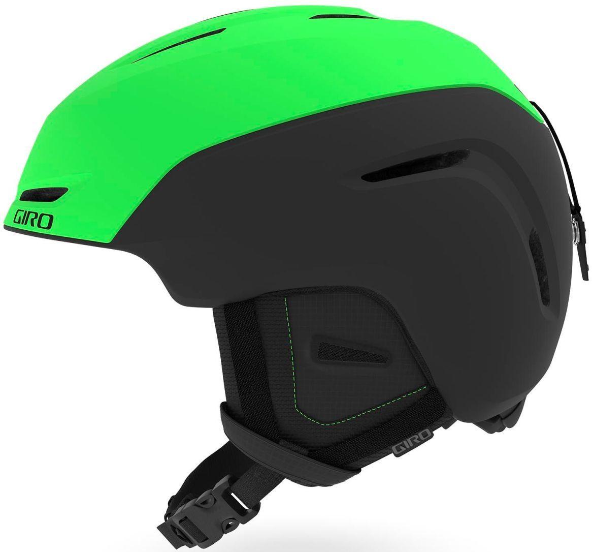 Giro Neo Mat - Bright Green/Black S-(52-55.5)