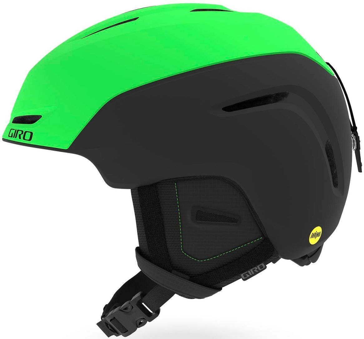 Giro Neo MIPS Mat - Bright Green/Black M-(55.5-59)