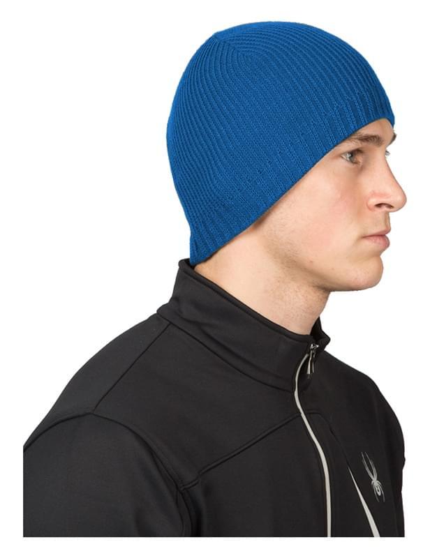 Pánská zimní čepice Spyder Bug Button - concept blue uni