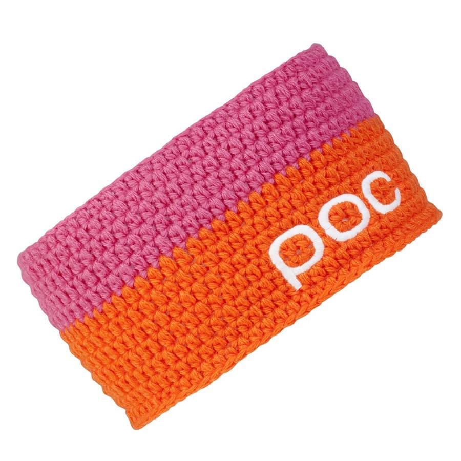8c738f65dcd Dámská zimní čelenka POC Crochet - Orange Neon Pink - Ski a Bike ...