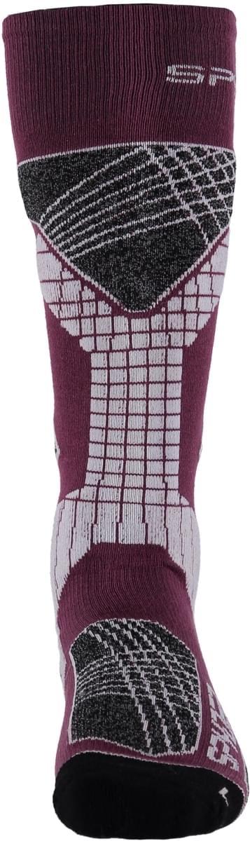 Spyder Women's Zenith Sock - amr/gre/wht S