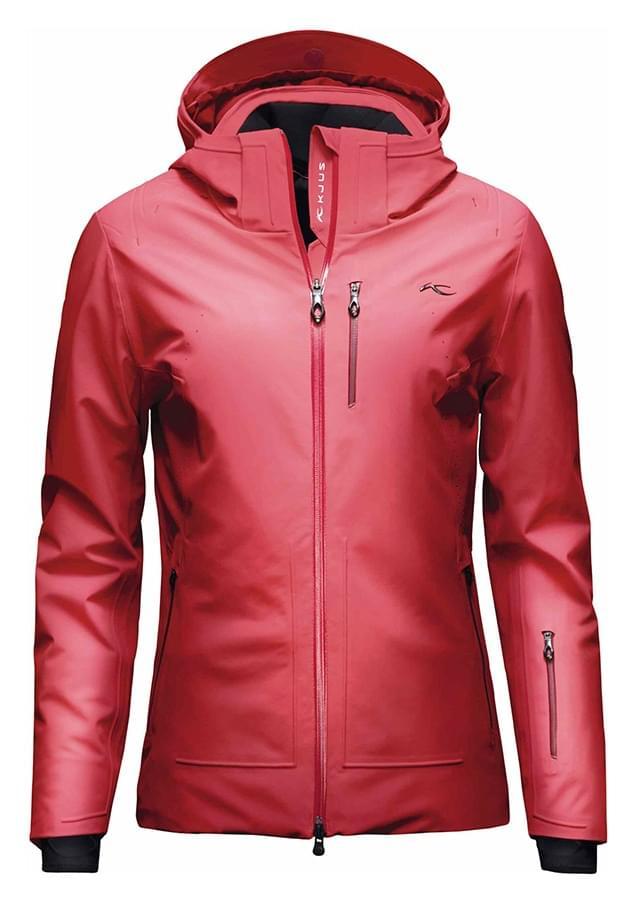 Dámská lyžařská bunda Kjus Ladies Edelweiss Jacket - lipstick purple ... 631cb80934