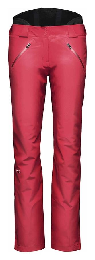 Dámské lyžařské kalhoty Kjus Ladies Razor Pants - purpur red 40