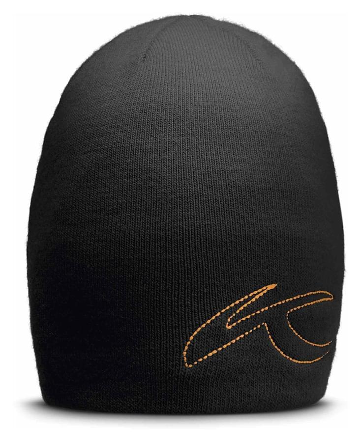 ca089d385ec Lyžařská čepice Unisex Kjus Beanie - black orange - Ski a Bike ...