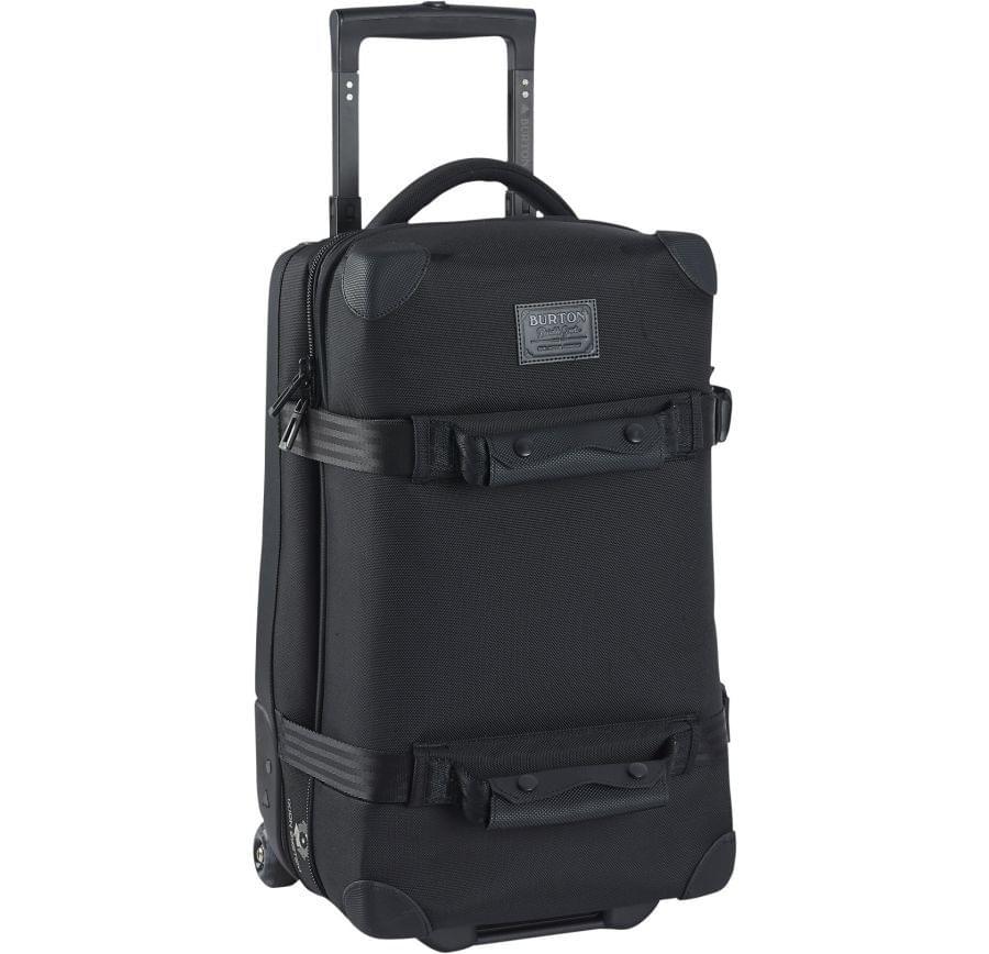Cestovní kufr na kolečkách Burton Wheelie Flight Deck 40l - black uni